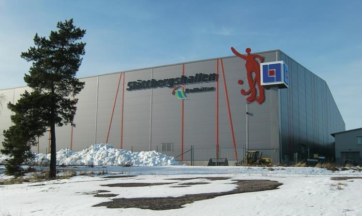 Indoor arena van Gripen BK in Trollhättan